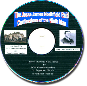 Ninth Man DVD Jesse James, Cole Younger Gang at Northfield
