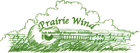 Prairie Wind Folk/Bluegrass Logo
